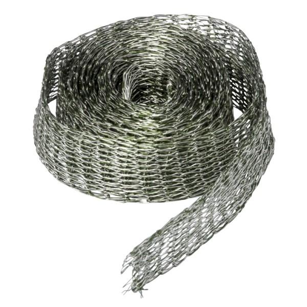 Titan-Mesh Collier-Band, 1 cm x 1 m, oliv