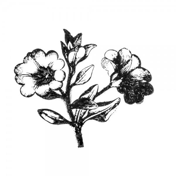 Stempel, Blumen-Motiv 2, 6cm x 7cm