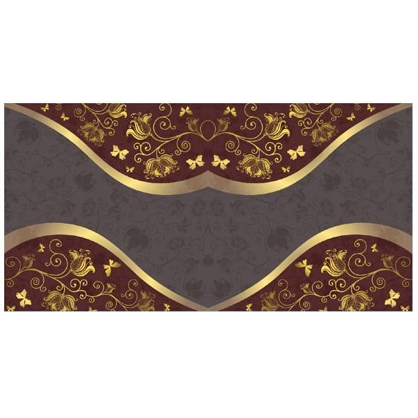 Motiv-Doppelgrußkarte im Edel-Design, 16x16cm, Design 13