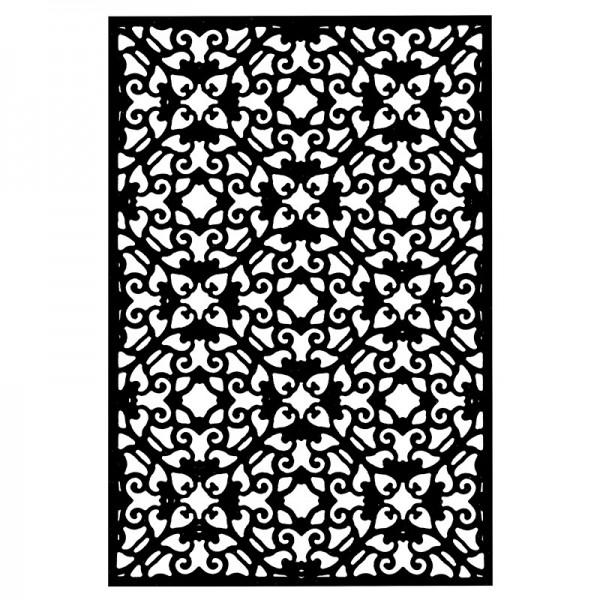 Stanzschablone, Hintergrund 6, 14,5cm x 9,5cm