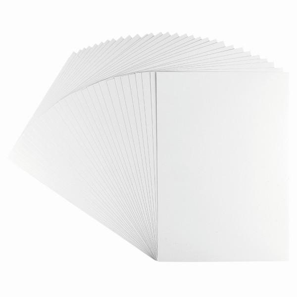 Stanzpapier, Optisilk, 150 g/m², DIN A4, weiß, 30 Bogen