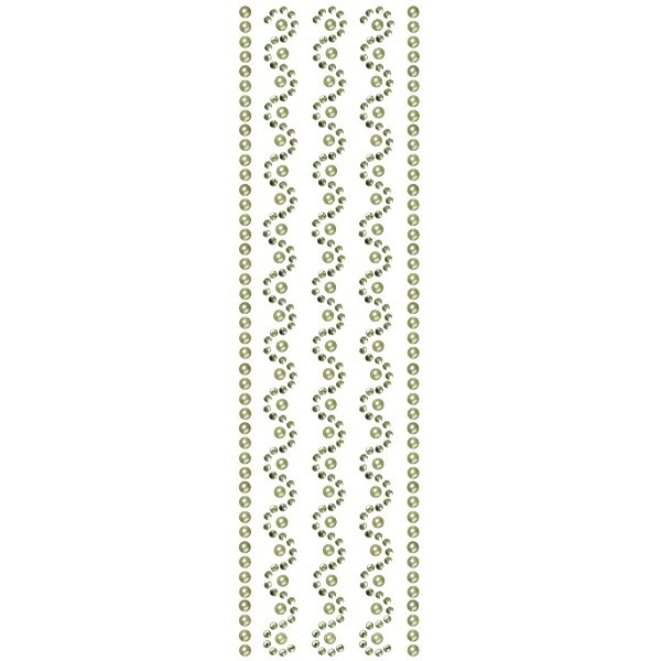 Royal-Schmuck, 5 selbstklebende Bordüren, 29 cm, grün
