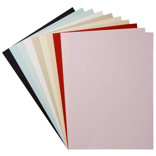 """Design-Karton, """"Barcelona"""", DIN A4, 10 Farben, 30 Bogen"""