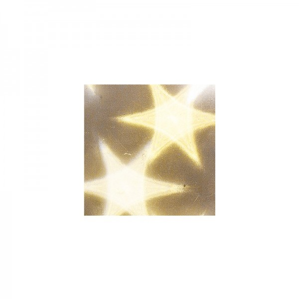 Lichteffekt-Stanzornament, Stern-Effekt, 7x7cm, 20 Stück