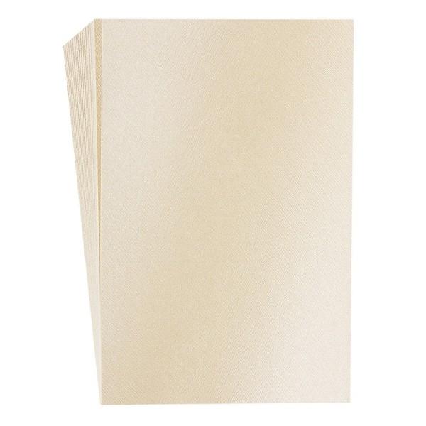 "Faltpapiere ""Nova 15"", 10x15cm, 50 Stück, beige"