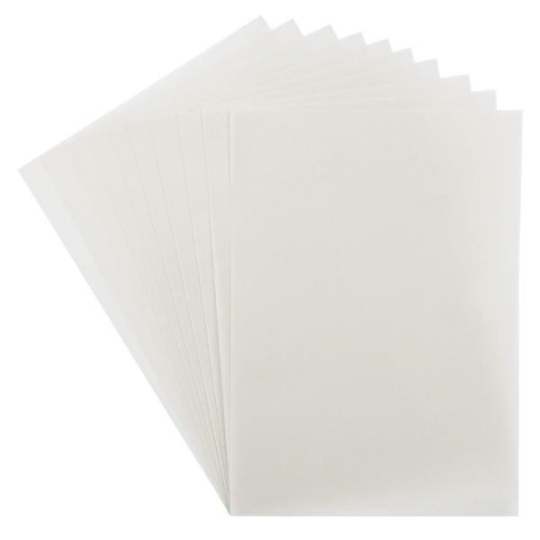 Transparentpapiere, Premium, DIN A4, 220 g/m², weiß, 10 Stück