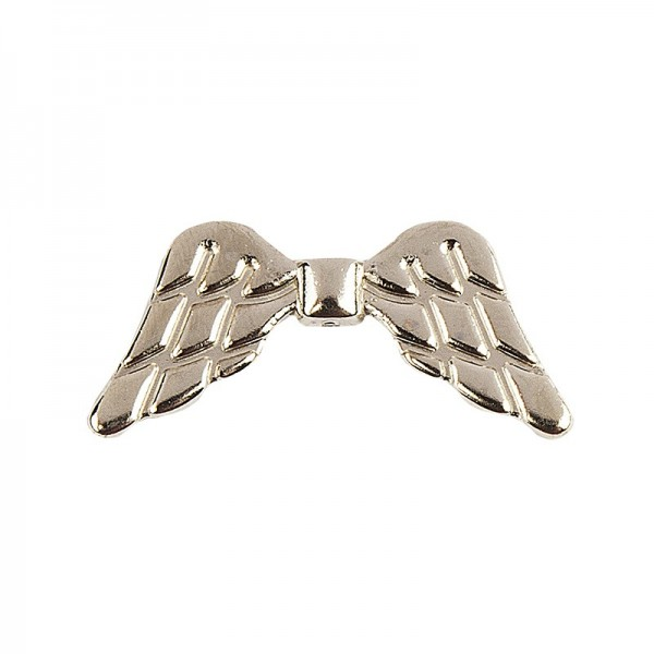 Engelsflügel, Design 1, 2,3cm, hellgold, 20 Stück