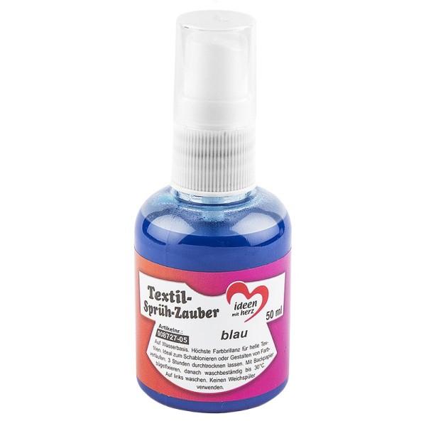 Textil-Sprüh-Zauber/Textil-Sprühfarbe, 50 ml, blau