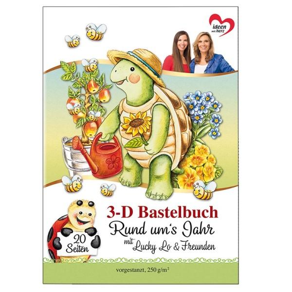 3-D Bastelbuch: Rund um's Jahr 3-D Motive auf 20 Stanzbogen, DIN A4