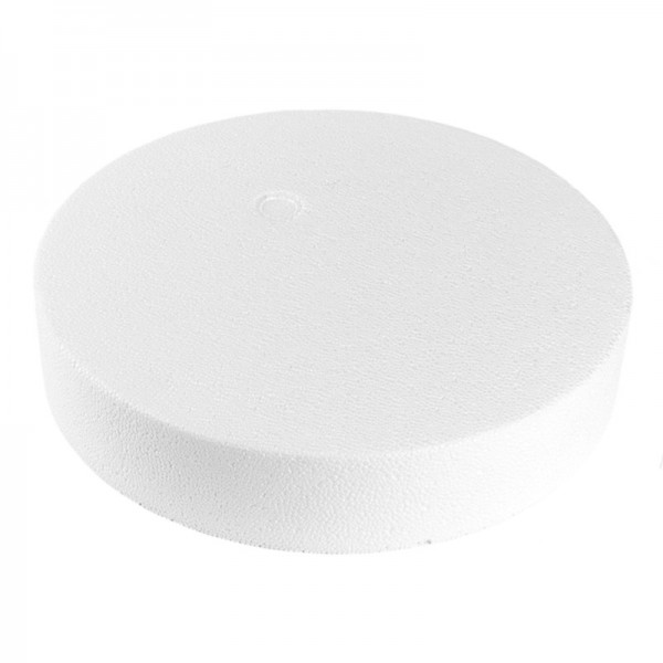 Styropor-Podest, rund, Ø25 cm, 5 cm hoch