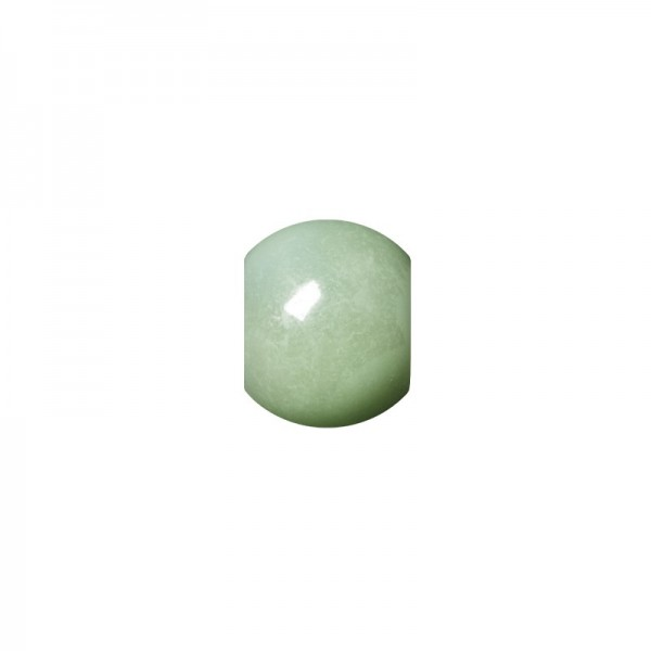 """Perlen """"Mona"""", Ø10 mm, 50 Stück, mint-irisierend"""
