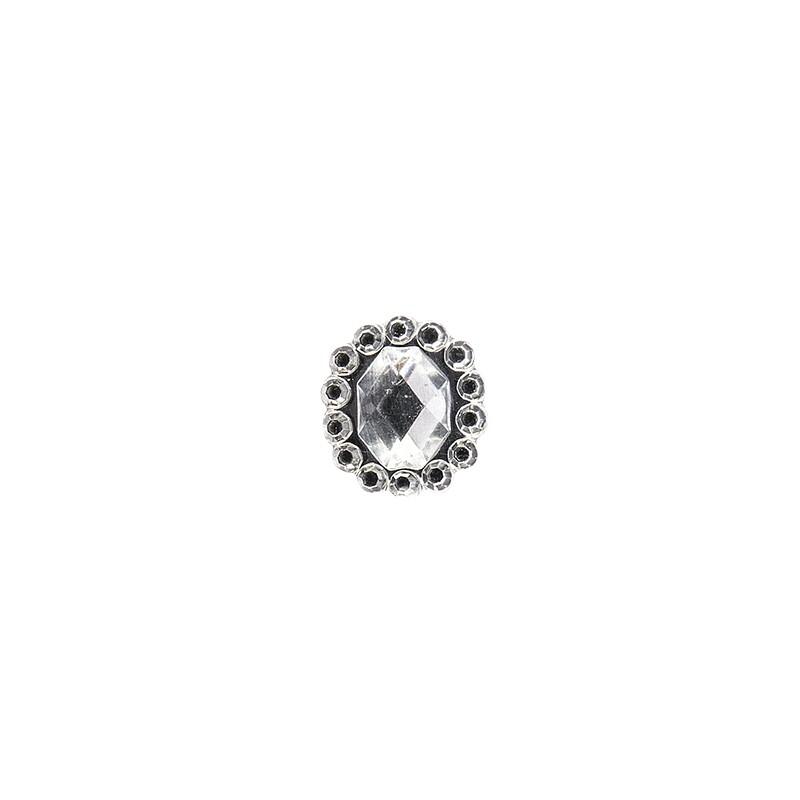 1000 x Glitzersteine Deko Diamanten Schmucksteine Glitzersteine aus Acryl Ø 6 mm