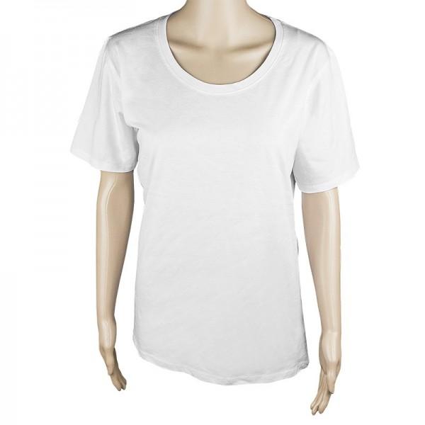 Damen T-Shirt, weiß, Größe XXL