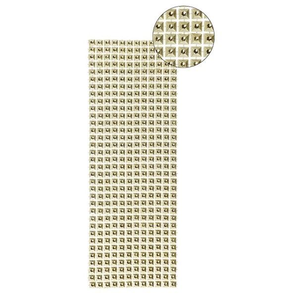 Schmuck-Netz, selbstklebend, 12 x 30 cm, gold, Design 3