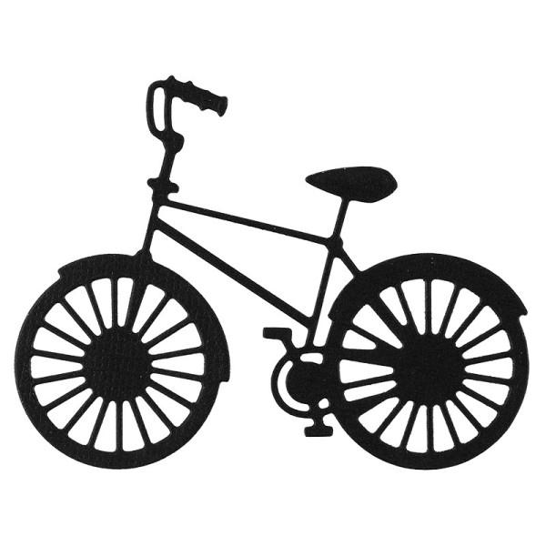 Stanzschablone, Fahrrad, 5,8cm x 7,6cm