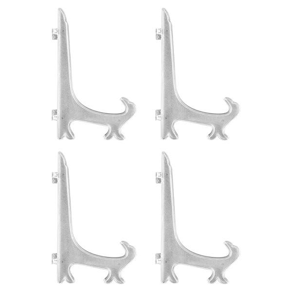 Staffeleien, für Rahmen & Bilder, 21,8cm x 14,5cm, klappbar, klar, 4 Stück