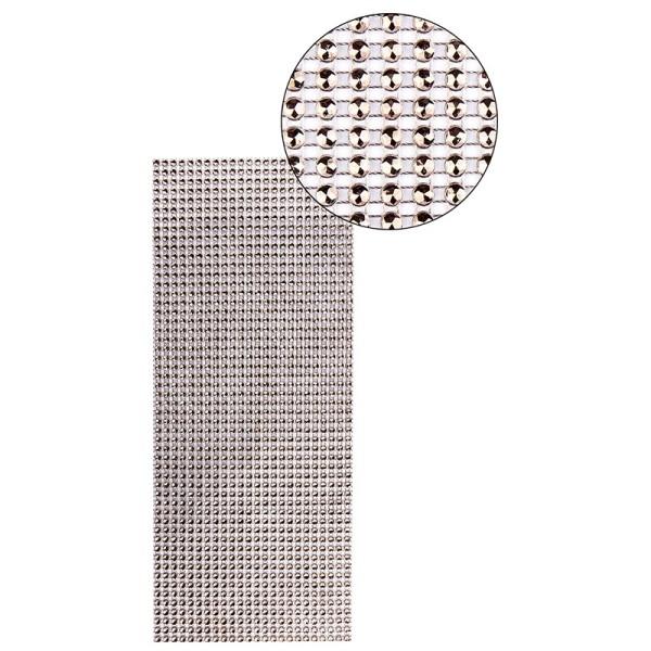 Schmuck-Netz, selbstklebend, 12cm x 30cm, braun