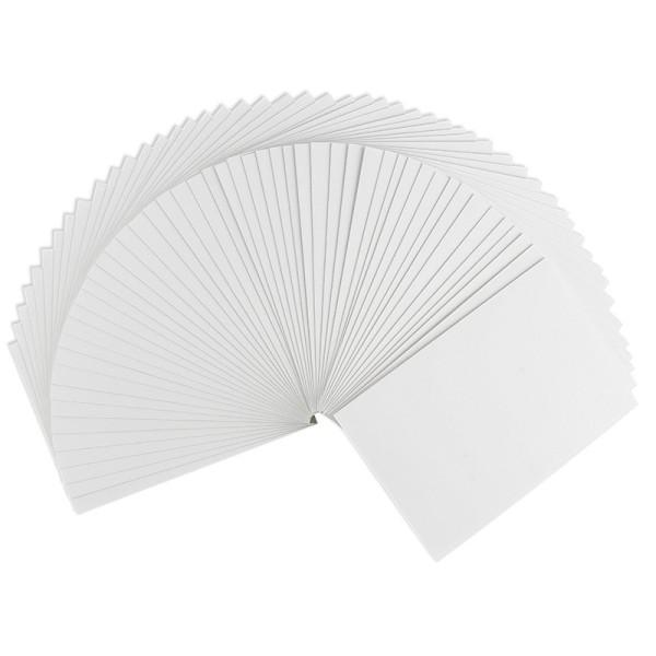 Grußkarten, B6 (11,5cm x 16,5cm), 230 g/m², weiß, 50 Stück