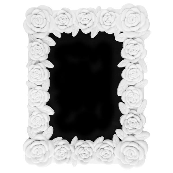 Relief-Wechselrahmen, Design 5, weiß, 17cm x 22cm, für Fotos 10cm x 15cm