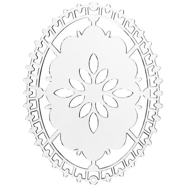 Acryl-Untersetzer,Zierdeckchen,Oval