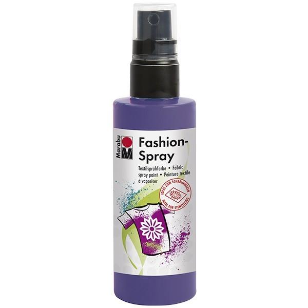 Marabu Fashion-Spray/Textil-Sprühfarbe, 100ml, pflaume