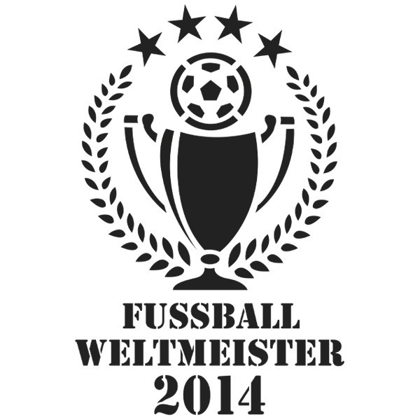 Laser-Kunststoff-Schablone, DIN A3, Fußball-WM 05