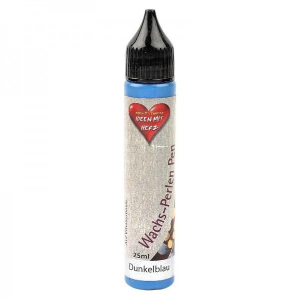 Wachs-Perlen Pen, 25 ml, Dunkelblau