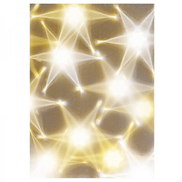 Lichteffekt-Folie, Hexagon, DIN A4, 10 Stück