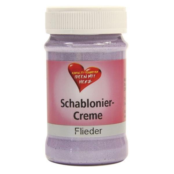 Schablonier-Creme, 90 ml, flieder
