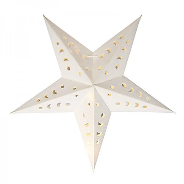 "3-D Leucht-Sterne ""India"", inkl. Nylonband, Ø14,5cm, 4 Stück"