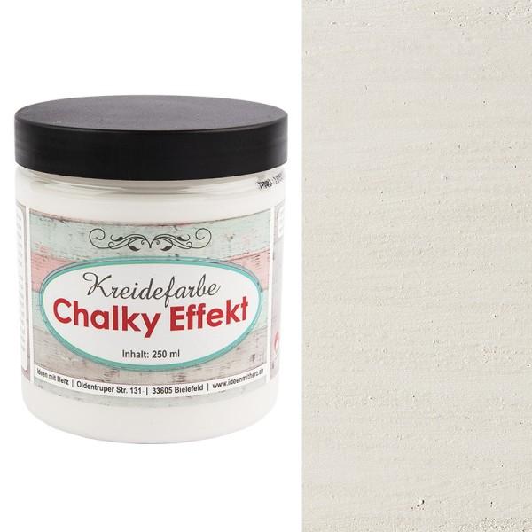 Chalky Effekt, Kreidefarbe, antikweiß, 250ml