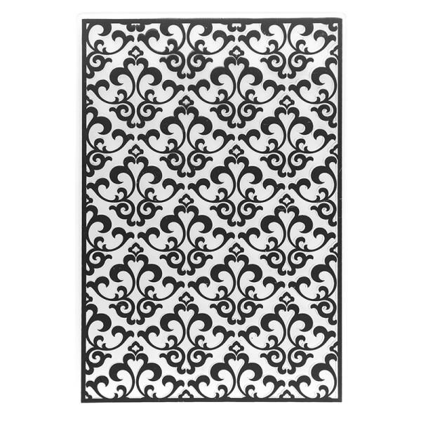 Prägeschablone, Ornamentik 11, 15cm x 10cm