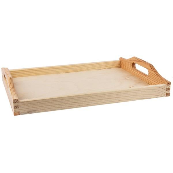 Holztablett, 30cm x 20cm x 5cm