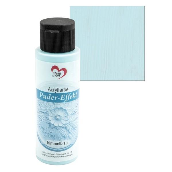 Acrylfarbe, Puder-Effekt, himmelblau, 70ml