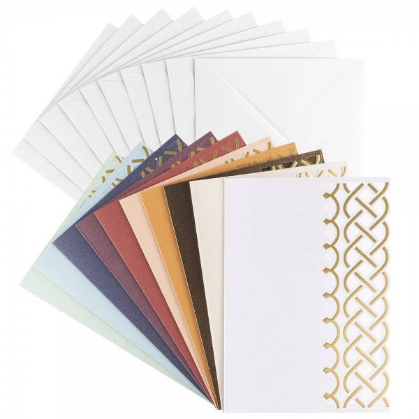"""Deluxe-Grußkarten """"Anna"""", B6, 10 Stück, inkl. Umschläge"""