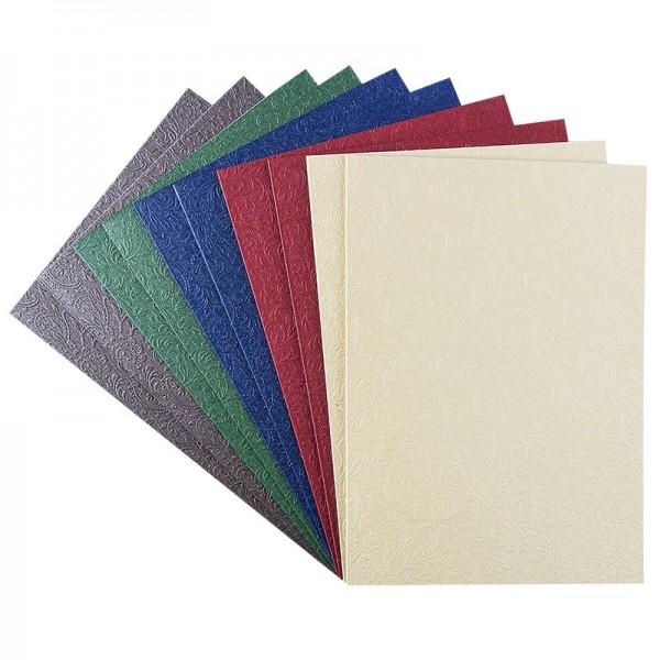 "Grußkarten ""Prag"", C6, kräftige Farbtöne, inkl. Umschläge, 10 Stück"