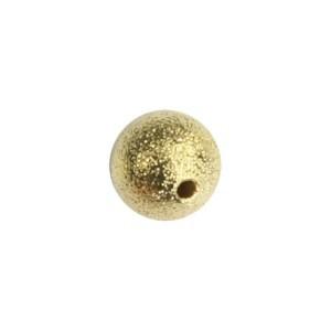 Diamant-Perlen, Ø1 cm, 10 Stück, goldfarben
