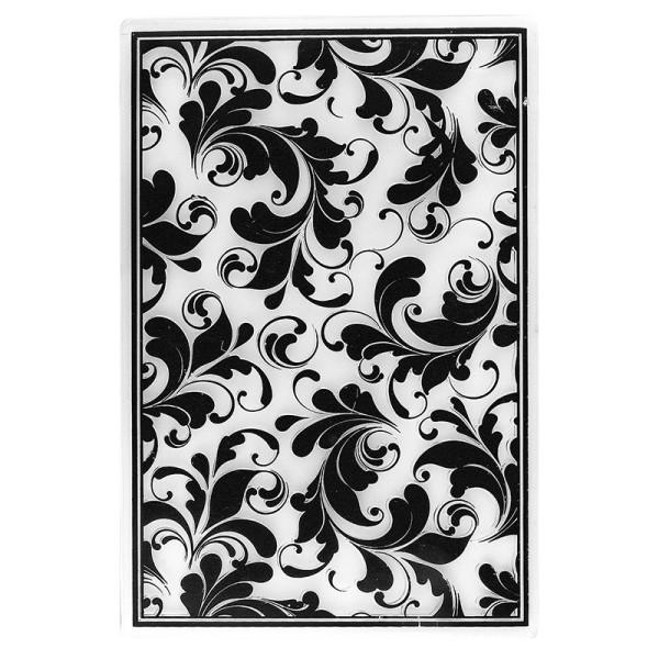 Prägeschablone, Hintergrund Ornamentik 2, 15cm x 10cm