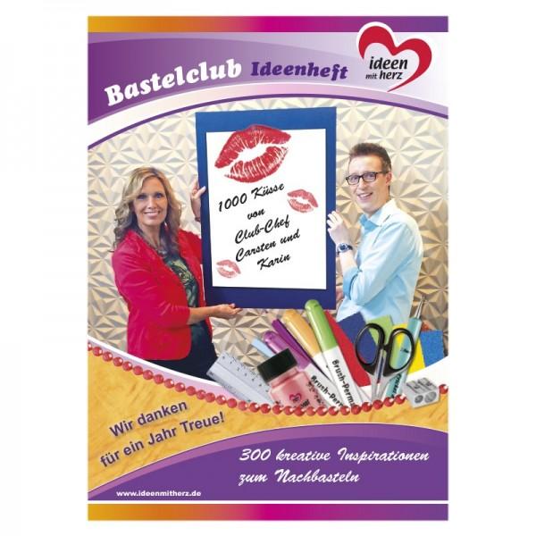 Bastelclub-Ideenheft, 300 kreative Inspirationen, DIN A4, 48 Seiten