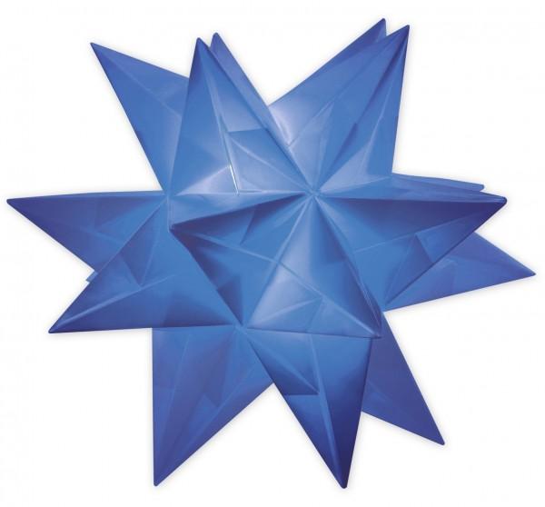 Aurelio Stern Set, transparent, 20cm x 20cm, 33 Blatt, blau