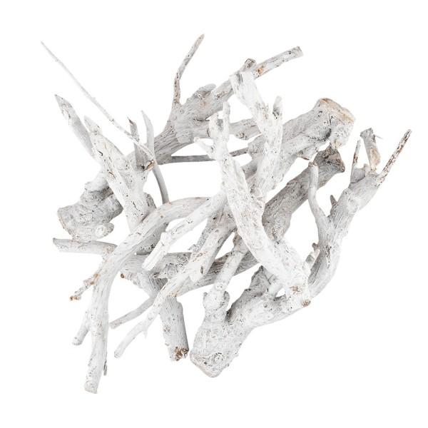 Wald-Deko, Äste, verschiedene Größen, weiß, 75g