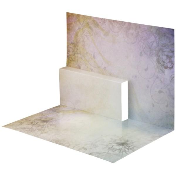 Pop-Up-Grußkarten-Einleger, gefaltet 11 x 15,5 cm, Fantasie