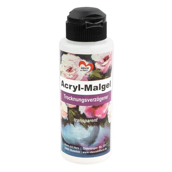 Acryl-Malgel, Trocknungsverzögerer, transparent, 120ml
