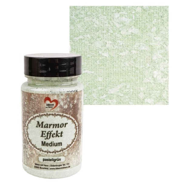 Marmor-Effekt-Medium, pastellgrün, 90ml