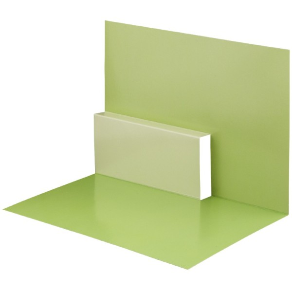 Pop-Up-Grußkarten-Einleger, gefaltet 11 x 15,5 cm, Design 12, grün
