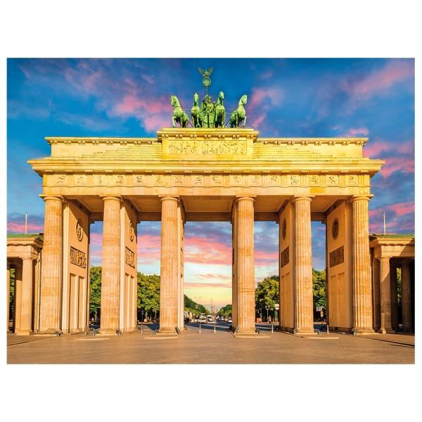 5D Diamond Painting, Brandenburger Tor, 35cm x 25cm, Motivleinwand, runde Steinchen, inkl. Werkzeug