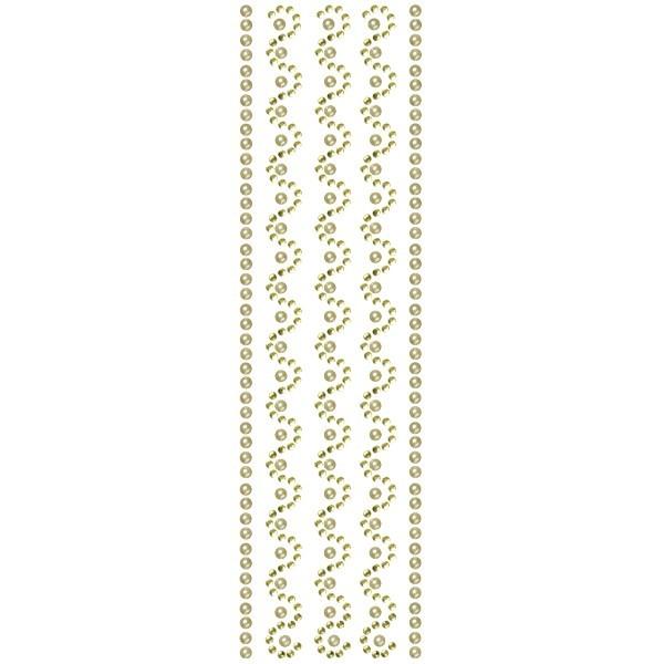 Royal-Schmuck, 5 selbstklebende Bordüren, 29 cm, gelb