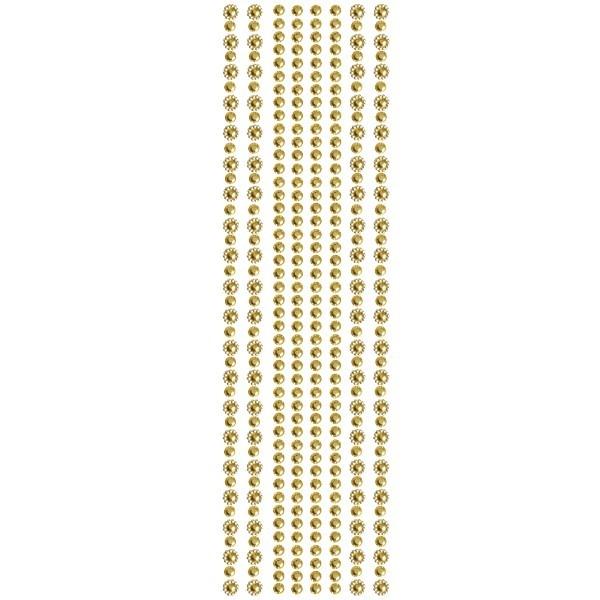Royal-Schmuck, 8 selbstklebende Bordüren, 29 cm, bernstein