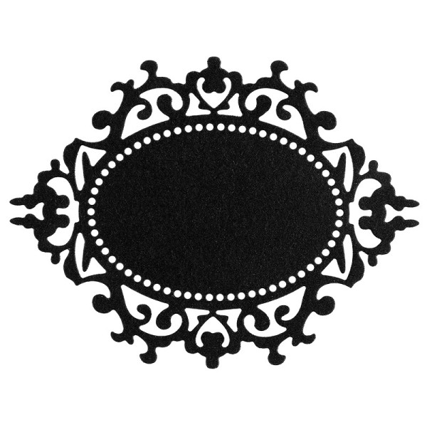 Stanzschablone, Rahmen, 7,7cm x 10cm