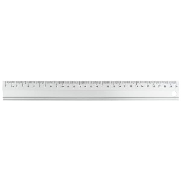 Lineal, 30cm, Aluminium